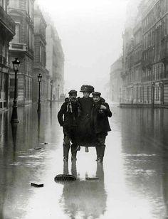 Lesinondationsde Paris en 1910