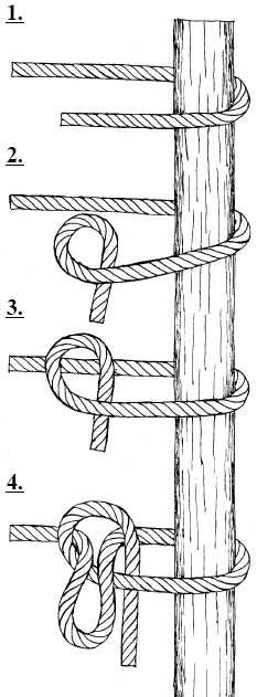 GEAT - Volta do Salteador - Utilizado para prender uma corda a um objeto, com…