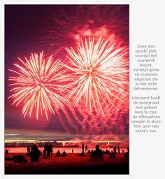 13 tips voor het fotograferen van vuurwerk