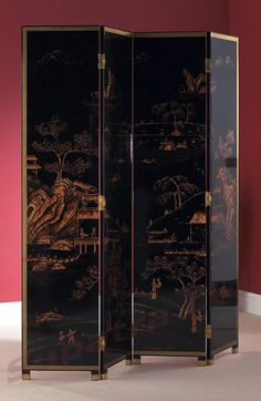 Chinoiserie Screen for the awkward corner