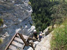 Klettersteig Schweiz Mount Rushmore, Mountains, Nature, Travel, Bike Rides, Flims, Family Getaways, Hiking, Viajes