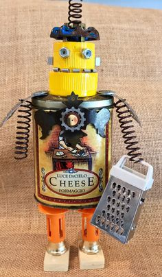 A personal favorite from my Etsy shop https://www.etsy.com/listing/525143538/steampunk-assemblage-the-big-cheese