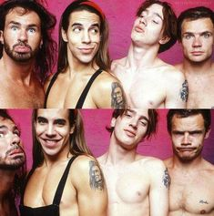 I'm having a frugasm: Photo John Frusciante Young, Chilli Pepers, Anthony Keidis, 1990s Bands, Dave Navarro, Band Posters, Music Bands, Beautiful Boys, Rock N Roll
