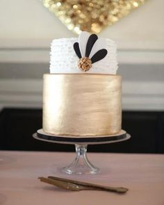 A gilded confection with chocolate ganache and salted caramel