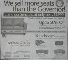 Funny Furniture Ad - Picture
