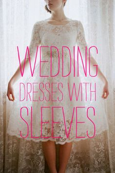I think for those of us with less taut upper arms a sleeve comes in handy. What do you think? Roundup: Wedding Dresses With Sleeves « A Practical Wedding: Blog Ideas for Unique, DIY, and Budget Wedding Planning