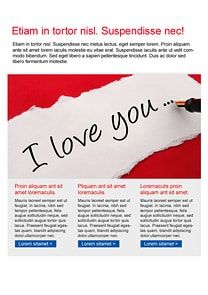 Cheer Blue Newsletter Template  Craig Sicilia