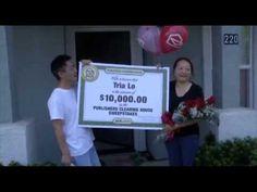 Tria Lo's winning moment in Sacramento, California