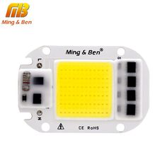 [MingBen] LED COB Lamp Chip 5W 20W 30W 50W 220V Input Smart IC Driver Fit For DIY LED Floodlight Spotlight Cold White Warm White $6.99   #beauty #cool #sweet #swag #streetstyle #ootd #instastyle #shopping #cute #glam #stylish #fashionista #styles #iwant #instalike