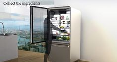 Smart Fridge: I'm not sure if I do love this or just am amazed at the technology.