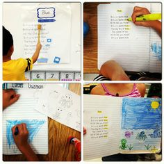 Terrific Tips for teaching with poetry from Kindergarten Smiles blog
