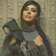 Who ever she is she's wife material - Alex Zedra Alex Zedra, Gunslinger Girl, Tough Girl, Female Soldier, Military Women, Girls Uniforms, N Girls, Badass Women, Usmc
