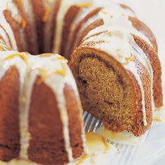 Pecan Sour Cream Coffee Cake -- this turned out well and it was very simple to make.