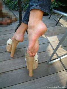 39 High Heel Mules That Will Inspire You - Shoes Styles & Design Sexy Legs And Heels, Hot High Heels, Platform High Heels, Platform Mules, Feet Soles, Women's Feet, Beautiful Toes, Sexy Toes, Female Feet