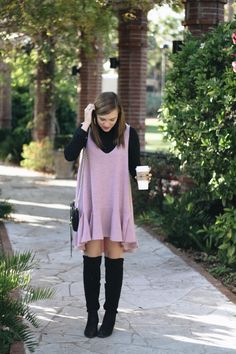 Black + Blush on the blog!