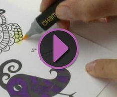 Chameleon Color Tones Pens Tutorials | Create and Craft