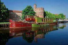 De verhalenboot aan de Thorbecke gracht