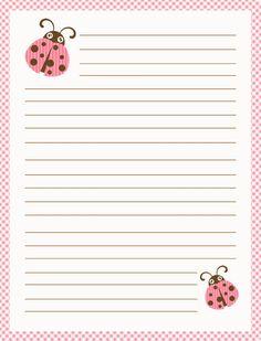 Ladybug Paper Printable