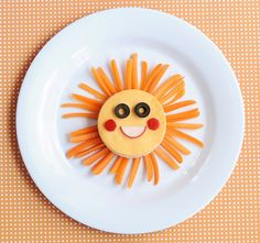 Çocuklar için Harika yemek tabağı süslemeleri