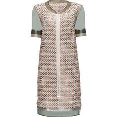 LATTORI Ivory Zip Front, Little Organza Dress