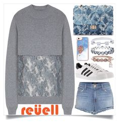 """""""My Reuell Moment"""" by itsybitsy62 ❤ liked on Polyvore featuring Undercover, J Brand, adidas, Casetify and reuelljewelry"""