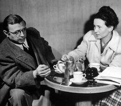 """Caminos del viento: """"Ser"""". Jean Paul Sartre."""