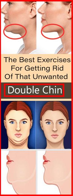 The Best Exercises For Getting Rid Of That Unwanted Double Chin#health #beauty #getrid #howto #exercises #workout #skincare #skintag #bellyfat #homeremdieds #herbal