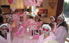 spa party ideas for girls birthday   spa girls