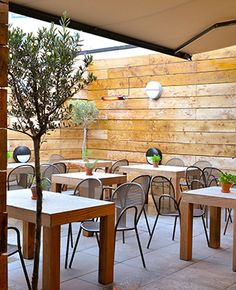 Dine on crispy pizzas, colourful fresh salads and glorious meatballs, on the simple wooden terrace of this fabulous local Italian restaurant. Read more here.