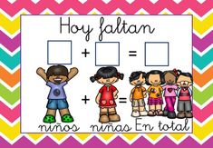Rutinas infantil Quien falta (1) Teaching Spanish, Teaching Resources, Math For Kids, Crafts For Kids, Transitional Kindergarten, Betty Boop, Back To School, Preschool, Clip Art