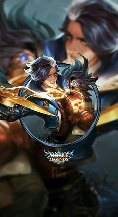 Wallpaper Phone Gusion Hairstylist by FachriFHR on DeviantArt Mobile Wallpaper Android, Mobile Legend Wallpaper, Hero Wallpaper, Wallpaper Desktop, Wallpapers, Alucard Mobile Legends, Legend Games, The Legend Of Heroes, Poker Online