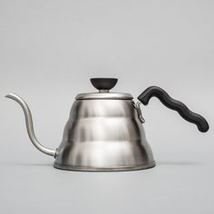 "Hario ""Buono"" kettle 1 litre size to buy online - huge range of Hario coffee equipment with free uk delivery for orders over Coffee Island, Coffee Equipment, Cold Brew, Home Brewing, Barista, Coffee Time, Kettle, Coffee Shop, Stainless Steel"