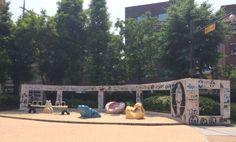 윗잔다리 park in Hongdae