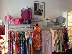 Twisting Vintage's new store .