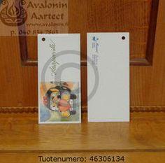 Minna Immonen gift card: wedding / Minna Immosen pakettikortti hääparille