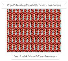 Free Landscape Turkey Red Chevron Large Princess Jasmine Pattern Paper - Aladdin