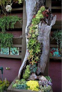 Tree Stump For Garden Art_40