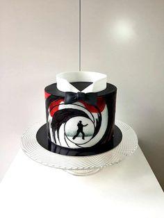 James Bond cake by Frufi