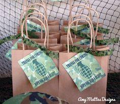 Amy Mattes Designs: Boys Army Birthday Party