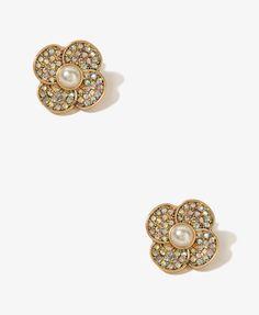 Pearlescent Flower Earrings | FOREVER21 - 1011889126