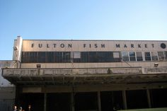NYC - Fulton Fish Market