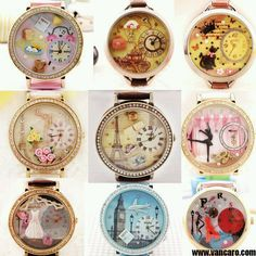 Relógios lindos.