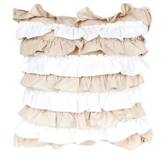 Deco Osmond Filled Cushion Linen and White Bed Linen, Linen Bedding, Quilt Cover, Ballet Skirt, Cushions, Deco, Bed Linens, Linen Sheets, Throw Pillows