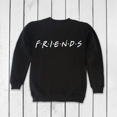 Friends TV Show Clothing Friends TV Show Sweatshirt Friends TV Show Sweater Friends tv Series Pullover Jumper for Men Women Printed Sweatshirts, Mens Sweatshirts, Men's Hoodies, Sweater Hoodie, Pullover, Friends Sweatshirt, Friend Outfits, Friends Tv Show, Girls Fashion Clothes