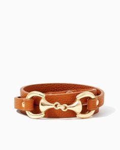 Horsebit Wrap Bracelet