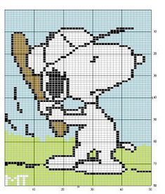 画像 Embroidery Art, Cross Stitch Embroidery, Embroidery Patterns, Beading Patterns, Diy Crochet Graph, Beaded Snoopy, Cross Stitch Designs, Cross Stitch Patterns, Unicorn Cross Stitch Pattern