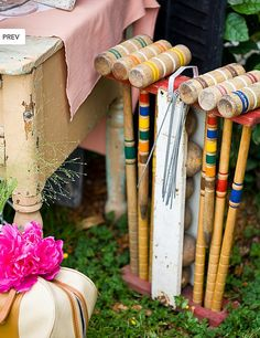 Croquet...loved playing it at family events when I was a kid. Need to do it again this summer :) Photo by House of Fifty Mag, via Flickr