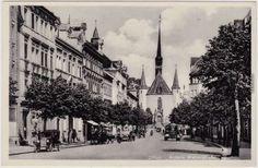 Zittau-Aussere-Weberstrasse-Ansichtskarte-Oberlausitz-1933