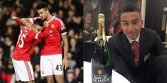 Jesse Lingard calls himself the Dabberman after Man United 3  Stoke 0 [Instagram]