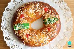 Receta de Roscón de Reyes vegano #RecetasGratis #Navidad #RecetasparaNavidad #RecetasNavideñas #CenadeNavidad #CenadeNocheVieja #CenadeNocheBuena #Roscón #RoscaReyes #RecetasVeganas #GoVeg #Veganos